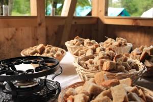 Chesse fondue (credit: Caro Kaunisaho)